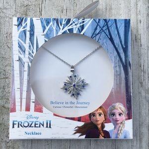 Disney's Frozen 2 Snowflake Necklace
